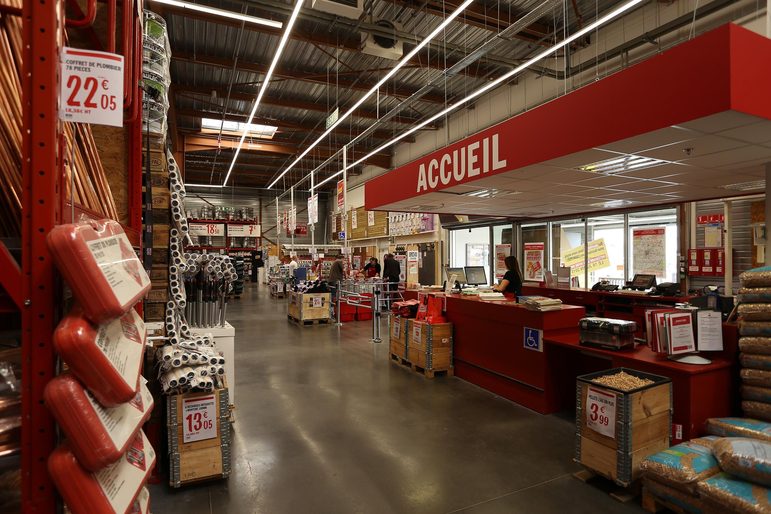 Meuble Salle De Bain Brico Depot Nice ~ brico d p t cesson s vign rennes magasins de bricolage rennes